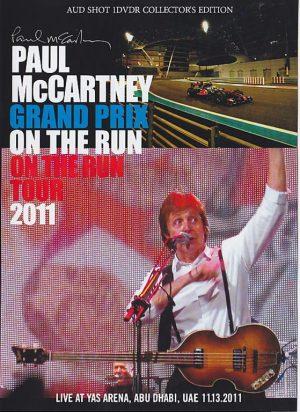 DVD Paul McCartney - Grand Prix On The Run 2011 ( Live At Yas Arena, Abu Dhabi, UAE, November 13th 2011 )