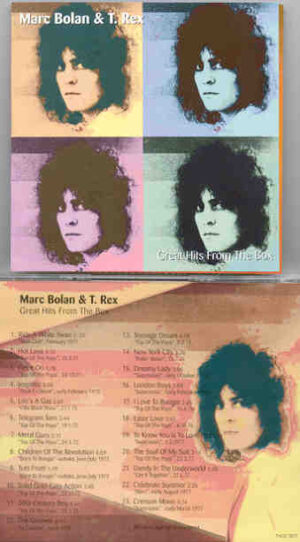T-REX - Greatest Hits From The Box  ( Rare Television Appearances )