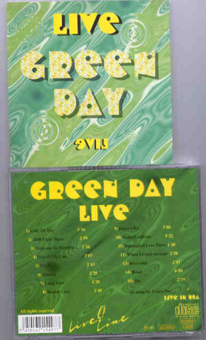 Green Day - Green Day LIVE   ( Live in the USA)