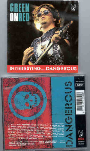 Green On Red - Interesting... Dangerous ( Pluto Recs ) ( Rare Live In Concert )