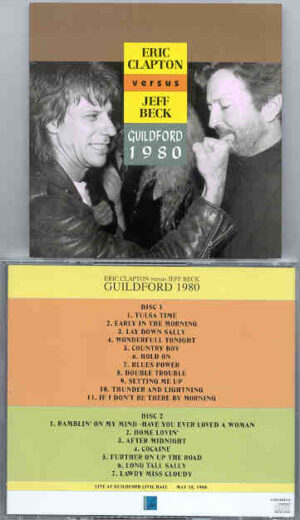 Jeff Beck - Guildford 1980 ( with Eric Clapton ) ( 2 CD!!!!! set )