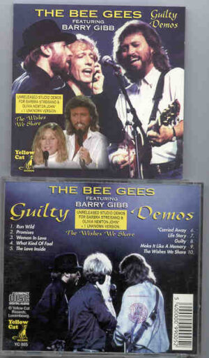 The Bee Gees - Guilty Demos ( Yellow Dog )