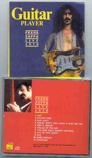 Frank Zappa - Guitar Player ( Live at Mid Hudson Civic Center , Poughkeepsie , NY , September 21st , 1978 )
