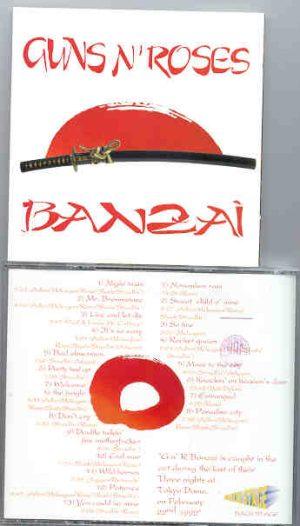 Guns N' Roses - Banzai ( Tokyo Dome Feb 22nd , 1992 ) ( 2 CD!!!!! SET )