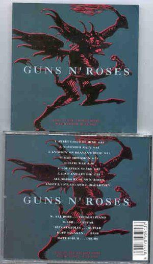 Guns N' Roses - Live At The Tacoma Dome 1991
