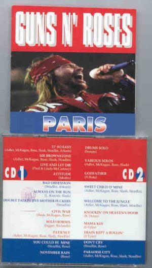 Guns N' Roses - Paris ( 2 CD!!!!! SET )