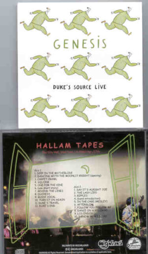 P. Gabriel  /  GENESIS  /  P. Collins - Hallam Tapes( Highland )( 2 CD!!!!! SET ) ( The City Hall , Sheffield , UK , April 17th , 1980 )