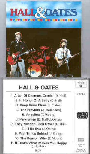 Hall & Oates - Live in U.S.A. 1992