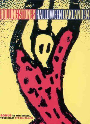 DVD The Rolling Stones - Halloween Oakland 1994 ( 2 DVD Set ) ( Oakland 94 plus Bonus Stockholm 1995 )