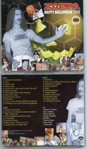 Frank Zappa - Happy Halloween 1978 ( 3 CD SET ) ( Live at Palladium , New York City , USA , October 31st , 1978 )