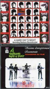 The Beatles - A Hard Day's Night Recording Sessions Reconstructed ( 3 CD + 1 DVD plus Booklet )