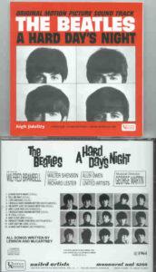 The Beatles - A Hard Day's Night Original Soundtrack ( US Mono )