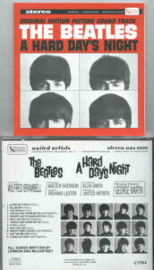The Beatles - A Hard Day's Night Original Soundtrack ( US Stereo )
