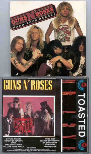 Guns N' Roses - Hard Rock Heroes ( Condor Toasted )