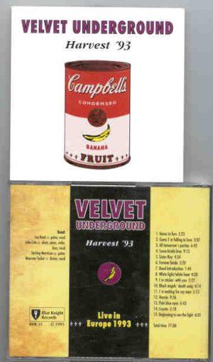 Lou Reed / Velvet Underground - Harvest 93