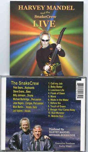 Harvey Mandel - Harvey Mandel & The Snake Crew Live