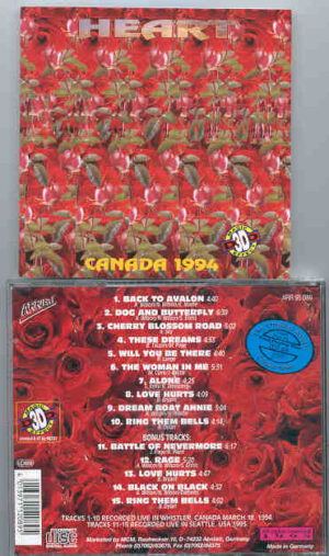 Heart - Canada 1994