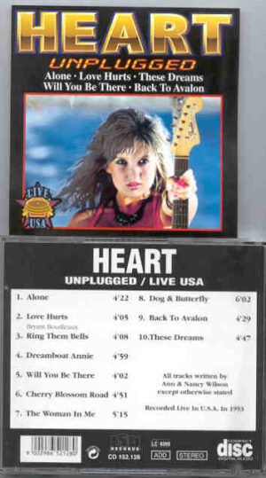 Heart - Unplugged Live In USA