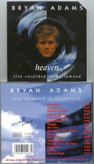 Bryan Adams - Heaven LIVE Recorded in Hollywood