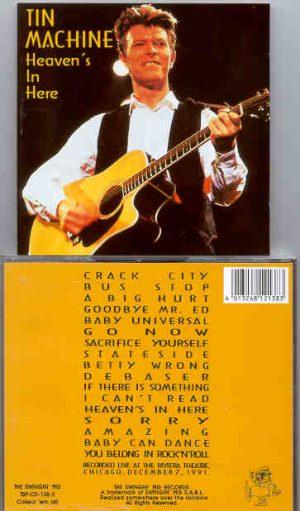 David Bowie - Heaven's In Here  ( Swingin' Pig ) ( 2 CD!!!!! set )