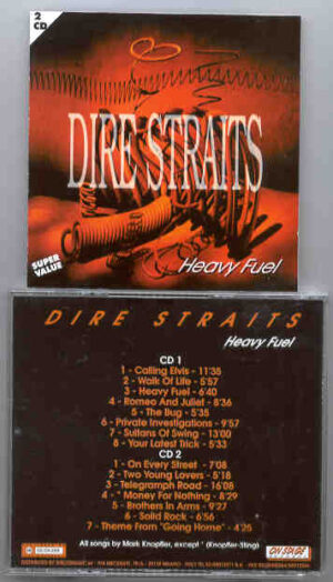 Dire Straits - Heavy Fuel ( On Stage Recs ) ( 2 CD!!!!! SET )