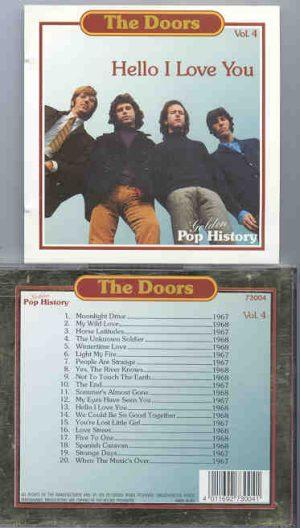 The Doors - Hello , I Love You ( Golden Pop History )