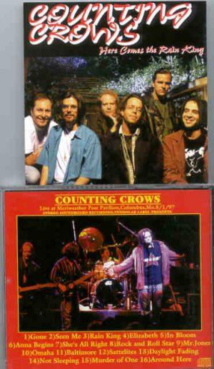 Counting Crows - Here Comes The Rain King ( Tendolar ) ( Columbus , MO , USA , 8/1/1997 )