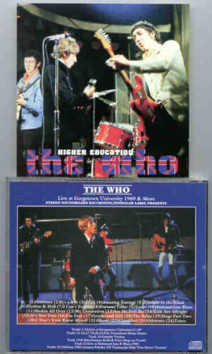 The Who - Higher Education ( Live at Georgetown University & More )