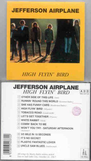 Jefferson Airplane - High Flyin' Bird ( Oil Well )