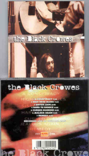 Black Crows - High Head Blues ( KTS ) ( Live On Tour , January 1995 )