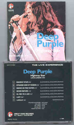 Deep Purple - Highway Star  ( Great Dane )