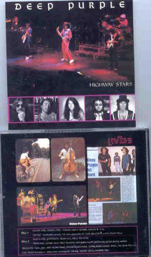 Deep Purple - Highway Stars ( 2 CD!!!!! set )( Adelaide , South Australia , Friday , November 30th , 1984 )