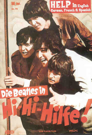 DVD The Beatles - Hi Hi Hilfe ! Help !