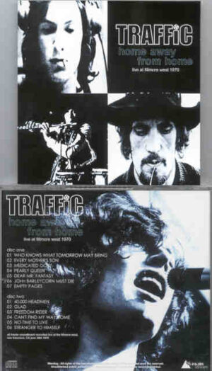 Traffic - Home Away From Home ( 2 CD!!!!! SET ) ( Soundboard From Fillmore West , San Francisco , CA , June 30th , 1970 )