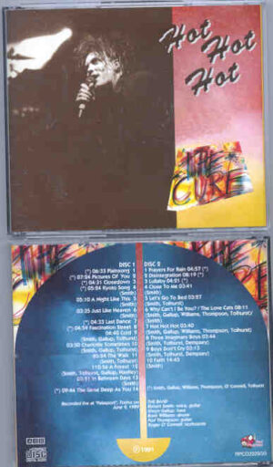 The Cure - Hot Hot Hot ( 2 CD!!!!! set ) ( Palasport , Torino , Italy , June 9th , 1989 ) ( Red Phantom )