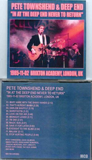 The Who - In At The Deep End Never To Return ( Brixton Academy , London , UK , November 2nd , 1985 )