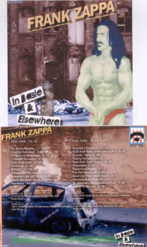 Frank Zappa - In Basle And Everywhere ( 2 CD!!!!! set ) ( Boston 1974 & Basle , Switzerland 1974 )