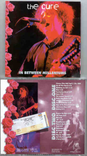 The Cure - In Between Millenniums ( Swingin' Pig ) ( 2 CD!!!!! SET )