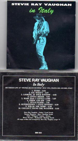 Stevie Ray Vaughan - In Memoriam Vol. 1 ( Swingin' Pig ) ( Ripley's Music Hall , Philadelphia , PA , USA , 1983 )