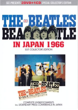 DVD The Beatles - In Japan 1966 ( 2 DVD + 1 CD ) ( 2013 Sgt Collector's Edition )