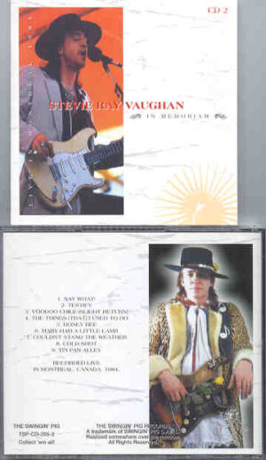 Stevie Ray Vaughan - In Memoriam Vol. 2  ( Swingin' Pig )  ( Montreal Canada , 1984 , Part One )