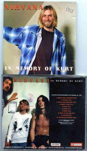 Nirvana - In Memory of Kurt ( On Stage Recs ) ( Live in Delmare , California , USA , 1992 )