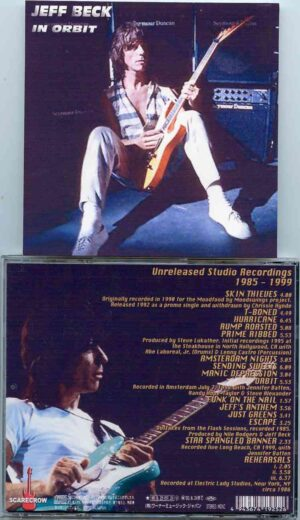 Jeff Beck - In Orbit ( Unreleased Studio Sessions 1985 - 1999) ( Excellent Assortment of Unreleased Studio Material )
