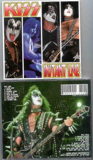 Kiss - Instant Live ( 2 CD!!!!! set ) ( West Palm Beach , Fl , USA , July 30th , 2004 )