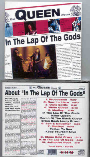 Queen - In The Lap Of The Gods