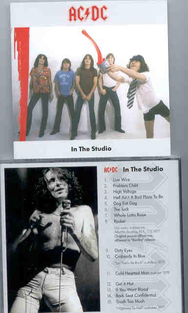 Ac-Dc - In The Studio ( Live Broadcast plus Studio Outtakes 1977 )