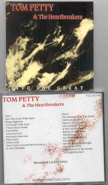 Tom Petty - Into The Great  ( 2 CD!!!!! set - Live 1992 ) ( Three Cool Cats )