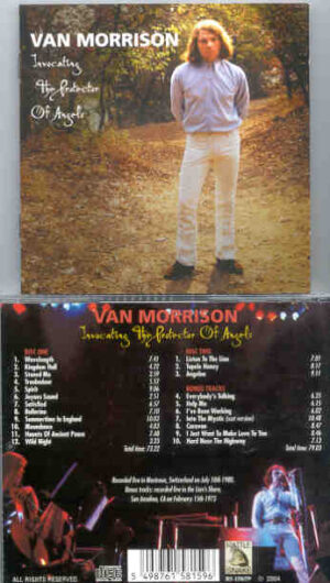 Van Morrison - Invocating The Protection Of Angels ( 2 CD!!!!! SET ) ( Switzerland , July 10th 1980 )