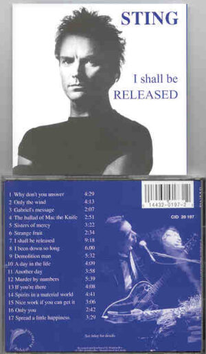 Sting / The Police - I Shall Be Released Vol. 1