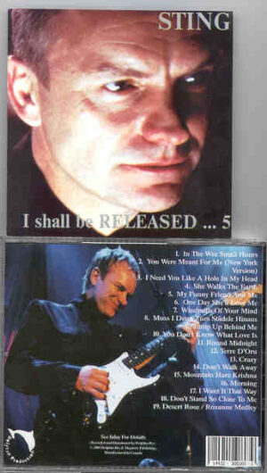 Sting / The Police - I Shall Be Released Vol. 5